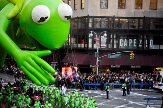 Kermit the balloon.   by tweber1