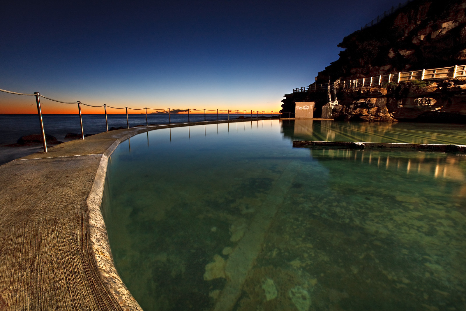 Bronte Tidal Pool at Dawn