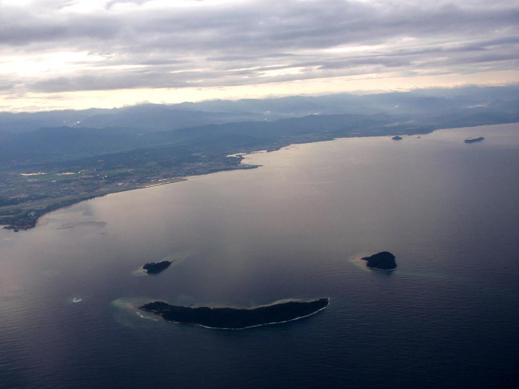 Smiley Islands Off Kota Kinabalu, Malaysia