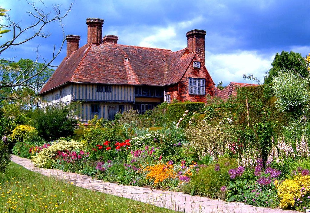 Great Dixter Former Home And Spectacular Gardens Of The La Flickr