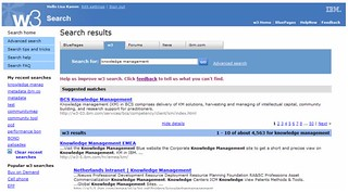 IBM W3 Search (old version) | by Peter Morville