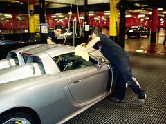 Porsche Carrera GT. Pulido chap.ó!. Tapicería chap.ó!