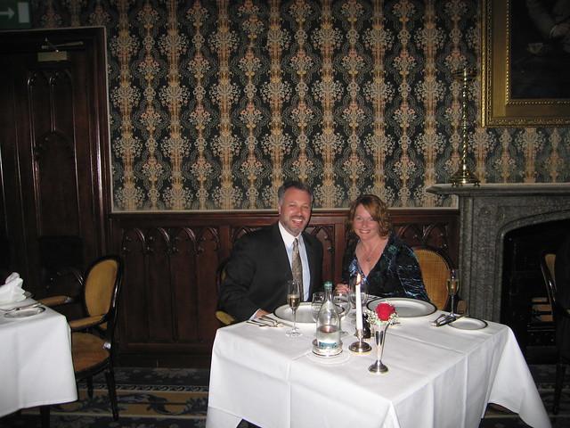 Dinner at Dromoland Castle