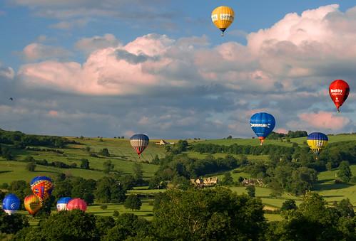 sunset summer england castle english june festival landscape geotagged evening cloudy balloon july grand cotswolds gloucestershire winchcombe prix 2008 sudeley colorphotoaward impressedbeauty geo:lat=51947135 geo:lon=1956553