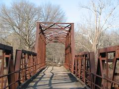 Old Lee Creek Bridge-Thru Truss