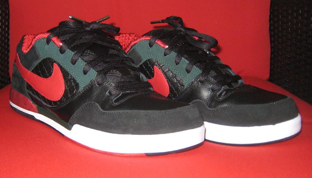 6c4da2bd2a2fb ... Nike SB Paul Rodriguez 2 Zoom Air (black   varsity red)
