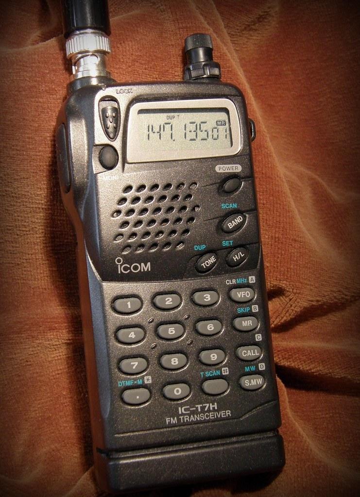 Icom IC-T7H | Icom IC-T7H FM Handheld Transceiver Descriptio… | Flickr