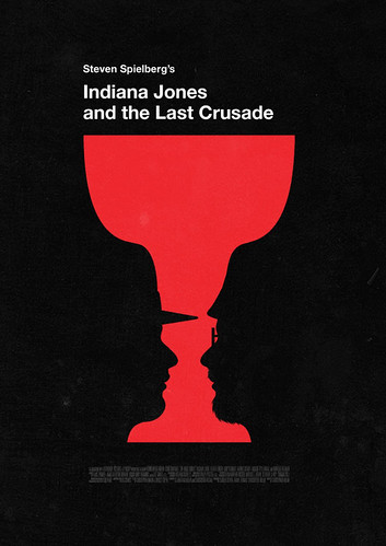Indiana Jones and the Last Crusade | by Olly Moss