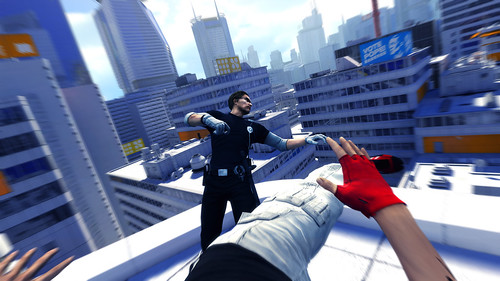 Mirrors Edge screenshots | by gamesweasel