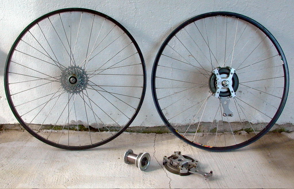 Vintage Phil Wood Disc Brakes    | This is just some of the