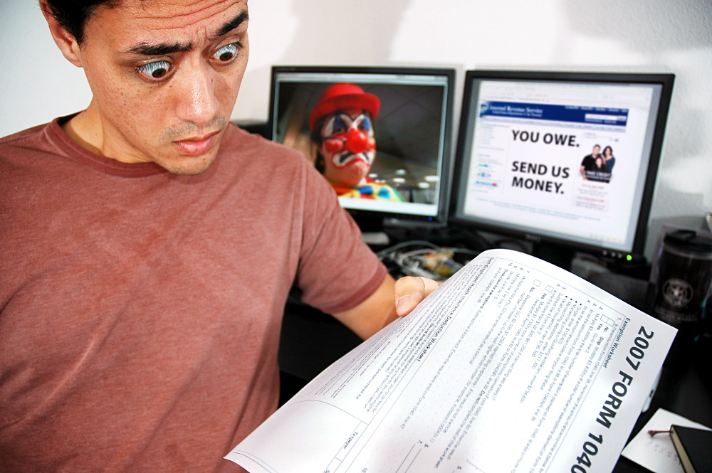 Paying the taxman