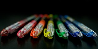 Seven Pens   by Jeremy Brooks