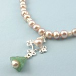 Pearl Bell Necklace1