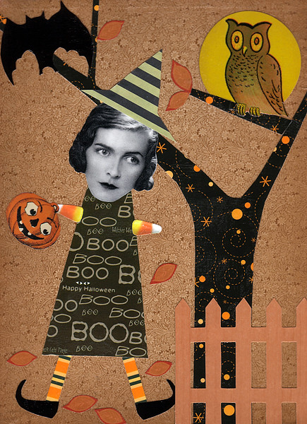 A Halloween Romp ~ Collage