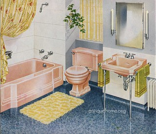 1940 S Pink Bathroom Ah The Joy Of The Pink Bathroom Daily Bungalow Flickr
