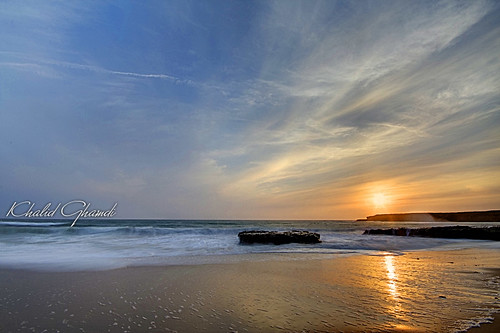 ocean california santa longexposure sunset night landscape cruz khalid غروب anawesomeshot vosplusbellesphotos ghamdi