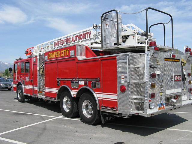 Draper Utah Fire Engine