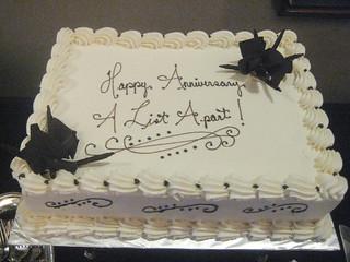 Happy anniversary A List Apart!