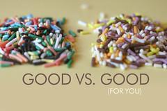 Sprinkles, side by side | by Bakerella