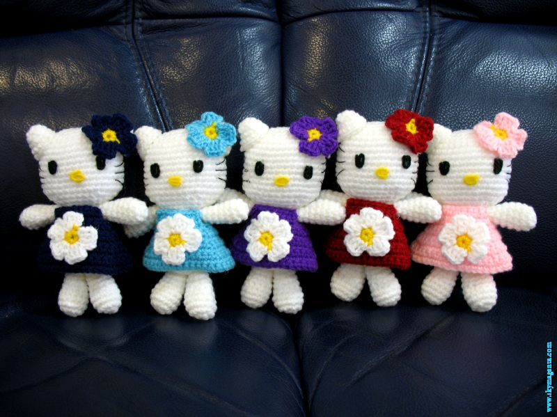 Hello Kitty Amigurumi - Amigu World Hello Kitty Amigurumi Characters | 599x800