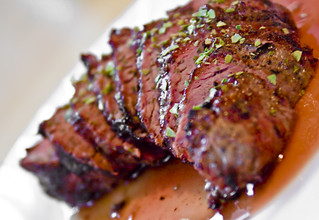 Peppercorn Beef Shoulder Filet Steak | by TheBusyBrain