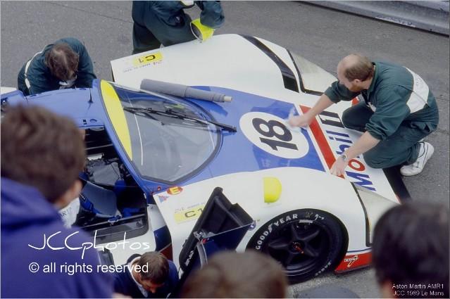 24 Heures du Mans 1989 Aston Martin AMR1 Redman Roe Los