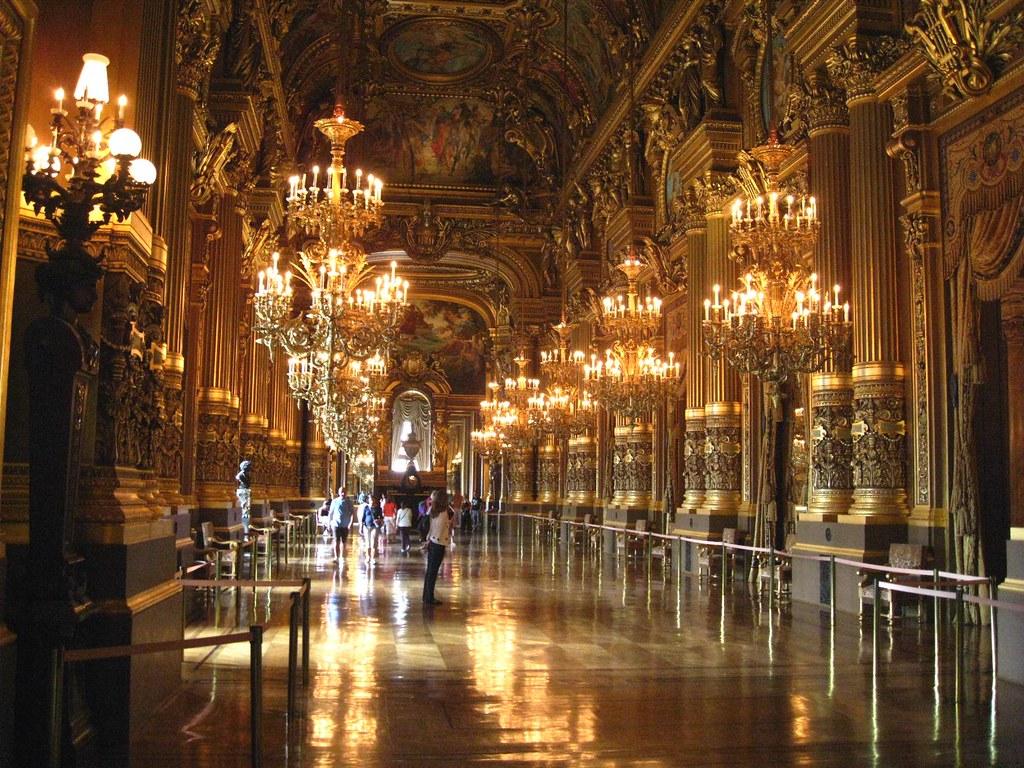 0897 Paris July2008_Grand Gallery, Le Palais Garnier Opera
