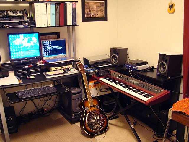 My Home Studio | My current home recording setup  Consist of… | Flickr