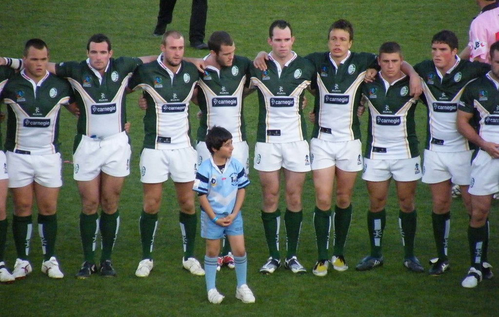 Ireland Rugby League Team | Ireland line up for National Ant… | Flickr