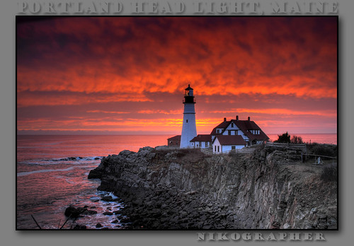 nov november lighthouse seascape me sunrise landscape dawn landscapes maine 2008 phl atlanticocean hdr portlandheadlight d300 capeelizabethmaine 5exp oceanstnc08 imagesforblog1 15minutesbeforesunriseactually 20081128d30041806 4wrmc