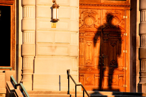 shadow history statue sunrise photo indianapolis indiana historicplace