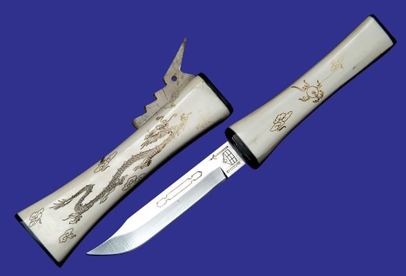 Cattle Bone Carved Knife Web 907826829 Paipai Com Contact Flickr