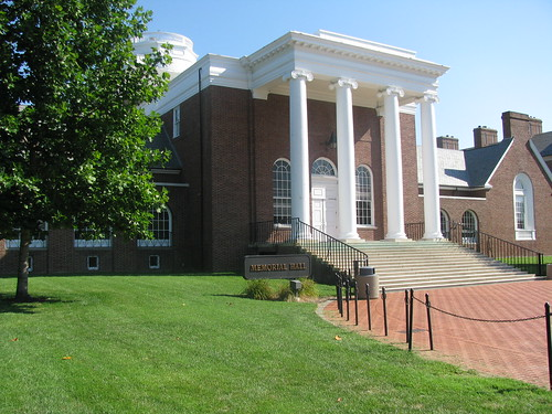 University of Delaware Campus - Memorial Hall | by mathplourde