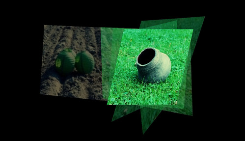 brown green grass xpro diptych dirt crossprocessing pottery paperlantern fakexpro multiview photosynth