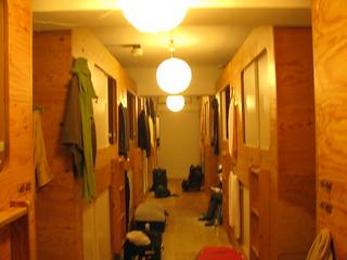 Inside Khaosan Ninja dorm room (photo by Tania)   by One Man Walking