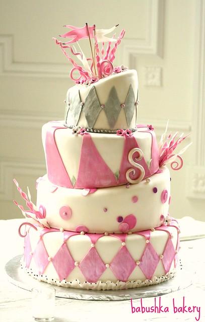 Lauren's  Parisian Cake