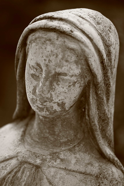 Weathered Mary