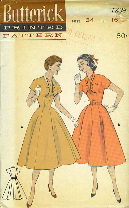 butterick 7239 front