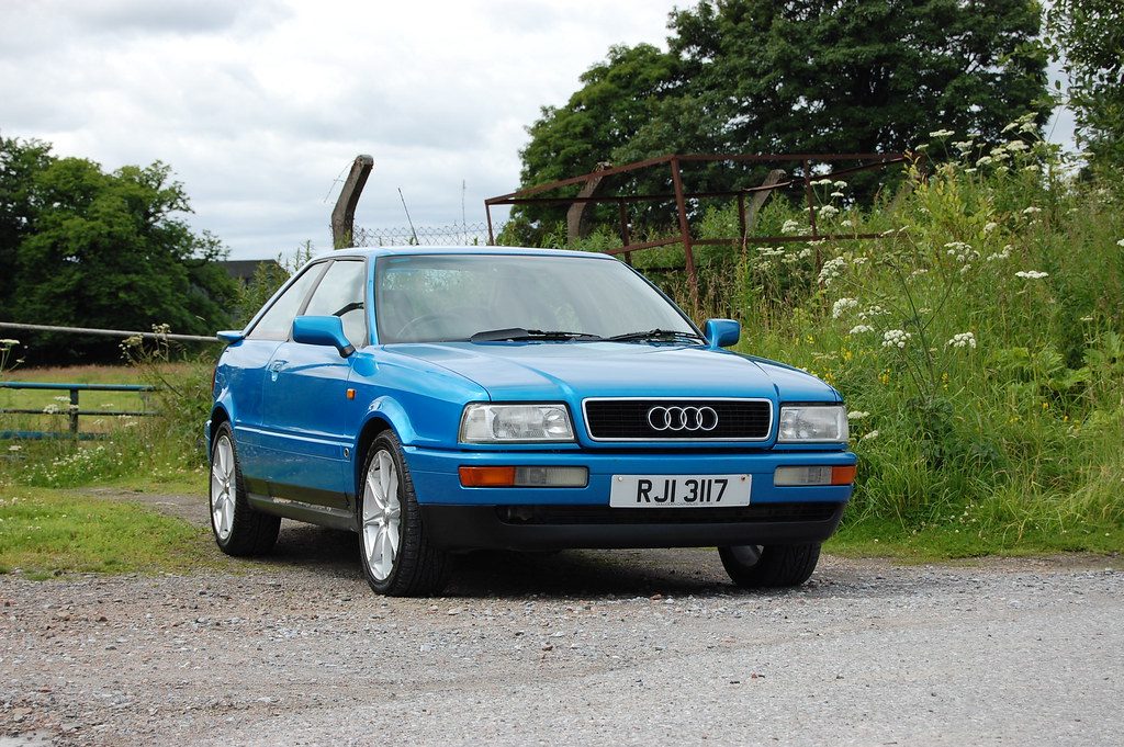 Audi Coupe 16v   Another shot of my newly-cleaned 1994 Audi …   Flickr