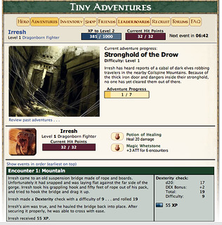 D&D Tiny Adventures: First Event | by Bruce Baugh