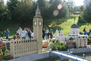 House of Parliament and Big Ben, Miniland, Legoland Windsor   by themattharris