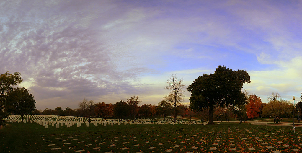 VA Grounds | Another shot of the Veterans Cemetery on the Mi