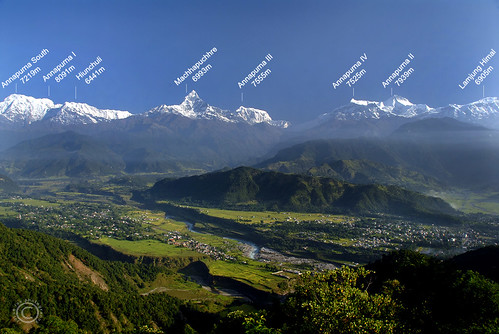 Annapurna Himalayan Range View from Sarangkot | by bluetiandi
