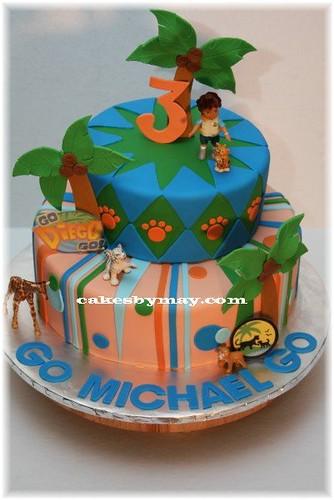 Cool Go Diego Go Cake Go Diego Go Birthday Cake For My Friends Flickr Personalised Birthday Cards Epsylily Jamesorg