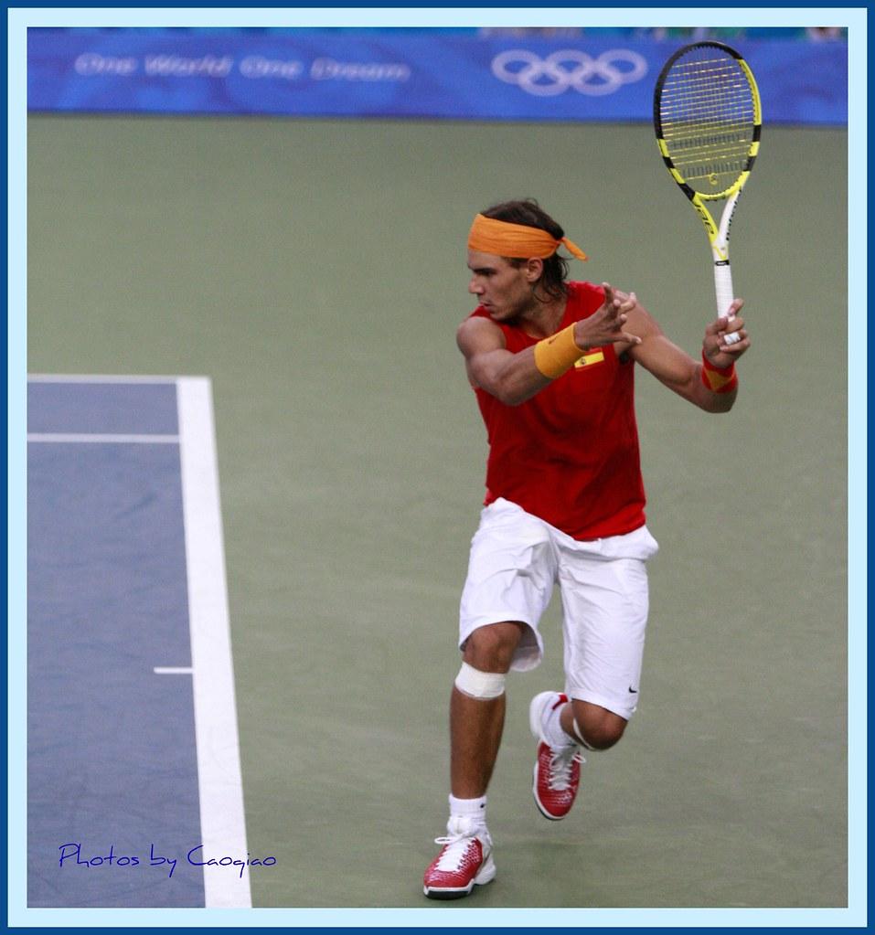 2008北京奥运会网球_纳达尔教你打网球--胸有成竹 | 2008年8月17日,北京奥运会男子 ...