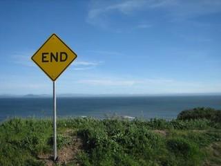 The End, Bolinas, CA