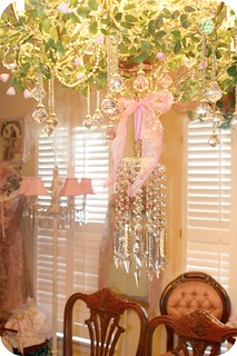 Dining Room Chandelier | by Sherry's Rose Cottage