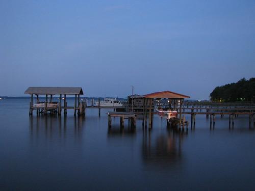 water night dock florida blackcreek claycounty longshutterexposure