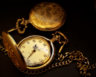 Pocket watch | by Romina Campos