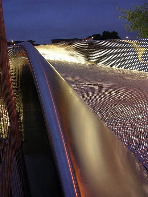 New Bristol Temple Quay Bike Bridge Open